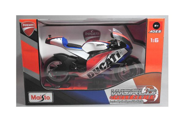 MAISTO 1/6scale Ducati motorcycle (Blue)  [No.MS32226B]