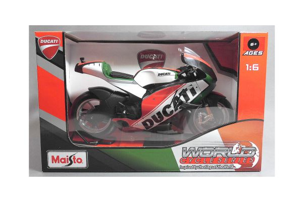 MAISTO 1/6scale Ducati motorcycle (Green)  [No.MS32226G]