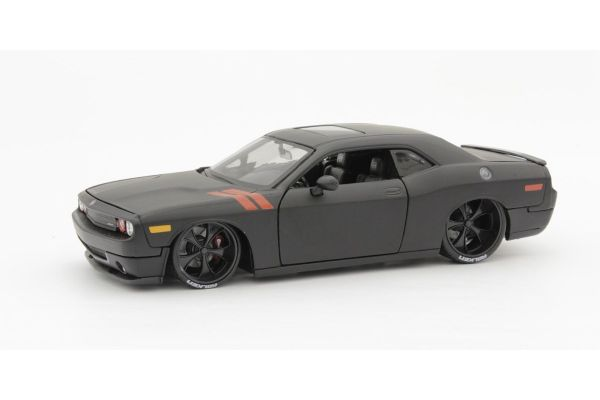 MAISTO 1/24scale 2008 Dodge Challenger (Flat Black)  [No.MS32529FBK]