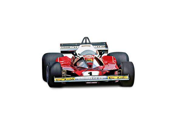 MATTEL (HOT WHEELS) 1/18scale フェラーリ 312 T2 ニキ・ラウダ モンテカルロGP 1976  [No.MTBLY40]