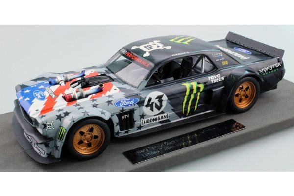 TOPMARQUES 1/18scale Ford Mustang 1965 Hoonigan V2 Stars & Stripes  [No.TOP048B]