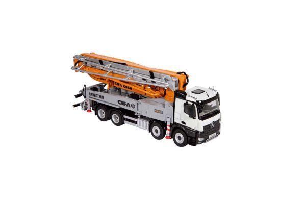 NZG 1/50scale CIFA K45H トラック マウンテッド コンクリート ポンプ メルセデス ベンツ Arocs 8x4  [No.NZG885]