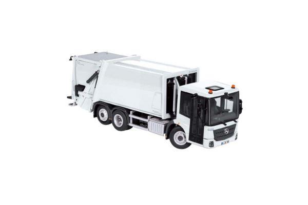 NZG 1/50scale メルセデス ベンツ Econic / Faun Variopress ゴミ収集車 ホワイト  [No.NZG908-40]