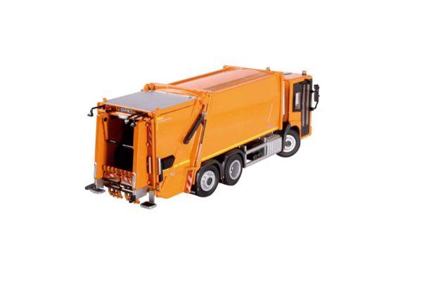 NZG 1/50scale メルセデス ベンツ Econic / Faun Variopress ゴミ収集車 オレンシ  [No.NZG908-65]