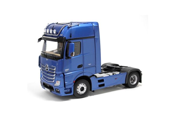 NZG 1/18scale Mercedes-Benz across 4 × 2 truck tractor Metallic Blue  [No.NZG952-25]