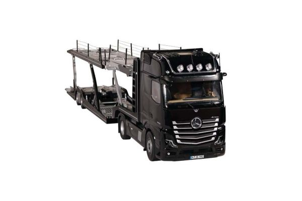 NZG 1/18scale LOHR car transporter / Mercedes Benz Actros Black set  [No.NZG989-50]