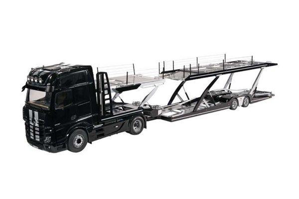 NZG 1/18scale LOHR car transporter / Mercedes Benz Actros Black / Stripe set  [No.NZG989-51]