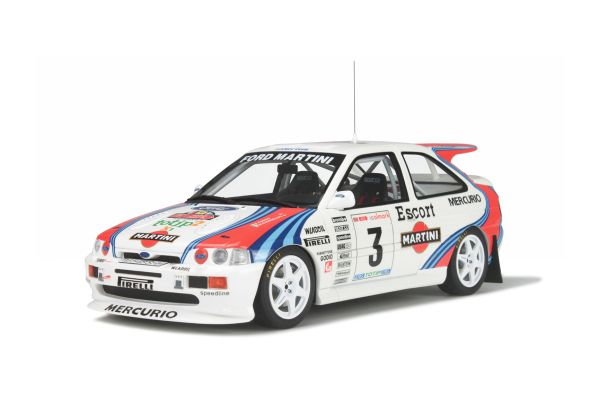 OttO mobile 1/18scale Ford Escort RS Cosworth Group A Rally 1000 Miglia 1995 Blue / Red / White [No.OTM204]