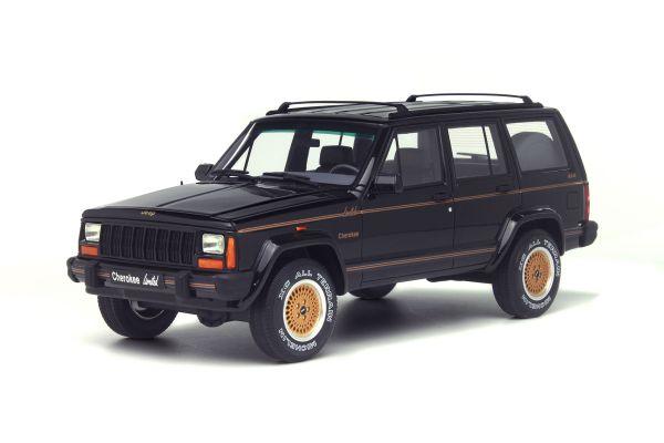 OttO mobile 1/18scale Jeep Cherokee Limited 1992 Black [No.OTM219]