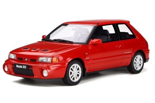 OttO mobile 1/18scale Mazda 323 GT-R (Familia) (Red)  [No.OTM255]