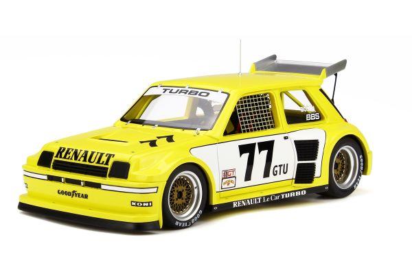 OttO mobile 1/18scale Renault Le Car Turbo IMSA Yellow/White  [No.OTM261]