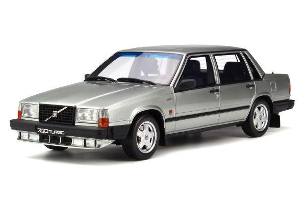 OttO mobile 1/18scale Volvo 740 Turbo (Silver)  [No.OTM263]