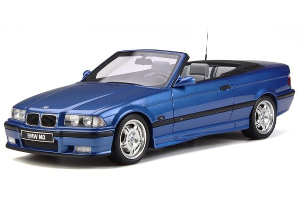 OttO mobile 1/18scale BMW M3 (E36) Convertible (Blue)  [No.OTM279]