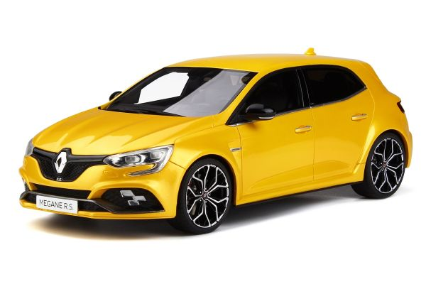 OttO mobile 1/18scale Renault Megane RS 2017 (Yellow)  [No.OTM283]