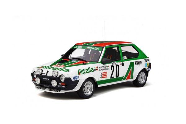 OttO mobile 1/18scale Fiat Ritmo Abarth Gr.2 (Alitalia) Rally Monte Carlo 1979  [No.OTM294]