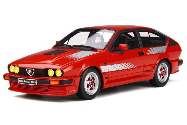 OttO mobile 1/18scale Alfa Romeo GTV 6 Production (Red)  [No.OTM295]