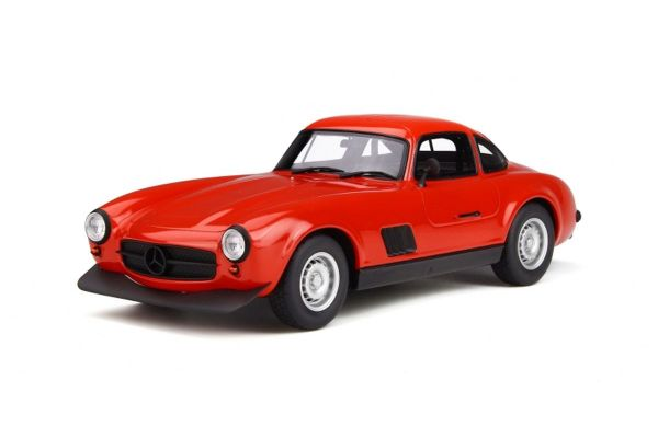 OttO mobile 1/18scale Mercedes Benz 300SL AMG (Red)  [No.OTM311]