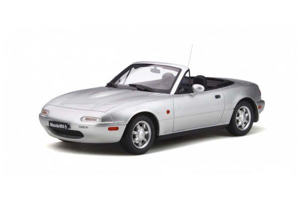 OttO mobile 1/18scale Mazda MX-5 (Silver)  [No.OTM321]