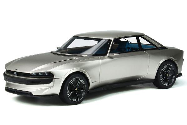OttO mobile 1/18scale Peugeot e-Legend Concept (Silver)  [No.OTM323]