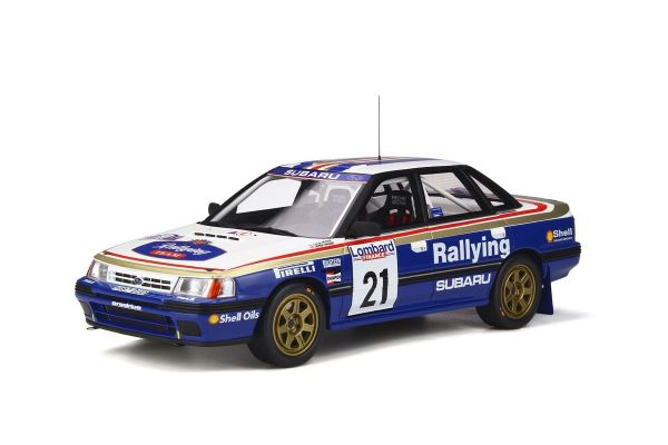 OttO mobile 1/18scale Subaru Legacy RS Gr.A RAC # 21 (White / Blue) World limited to 2,000  [No.OTM341]