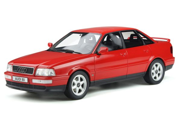 OttO mobile 1/18scale Audi 80 (B4) Quattro Competition (Red) World Limited 3,000  [No.OTM355]