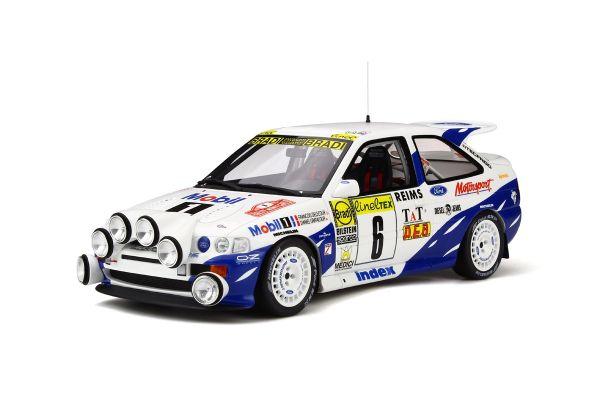 OttO mobile 1/18scale Ford Escort RS Cosworth 4 x 4 Gr.A Rally Monte Carlo (White / Blue)  [No.OTM534]