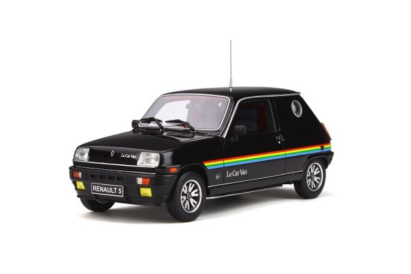 OttO mobile 1/18scale Renault 5 Le Car Van (black)  [No.OTM555]