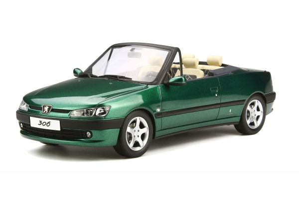 OttO mobile 1/18scale Peugeot 306 Convertible Roland Garros Green [No.OTM583]