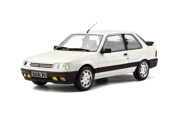 OttO mobile 1/18scale Peugeot 309 GTI Phase 1 White [No.OTM598]