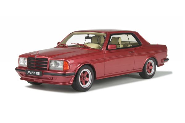 OttO mobile 1/18scale Mercedes-Benz AMG 500CE  Bright Red   [No.OTM641]