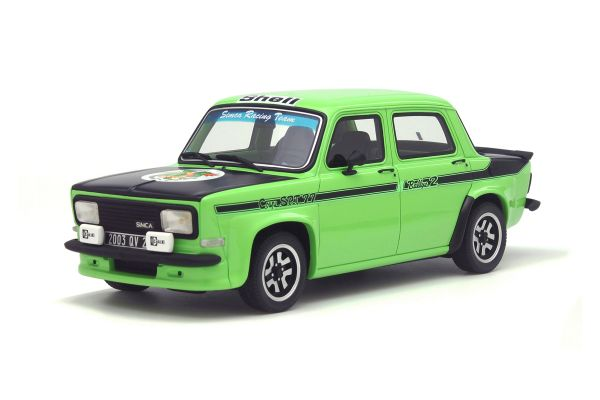 OttO mobile 1/18scale Simca Rally 2 SRT kit Green/Black  [No.OTM667]
