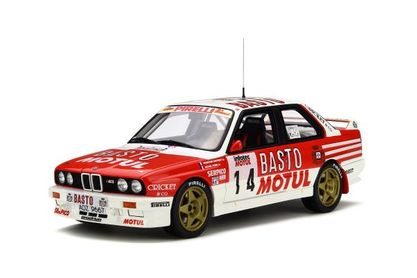 OttO mobile 1/18scale BMW M3 Rally Tour de Corse 1989 Red/White [No.OTM669]