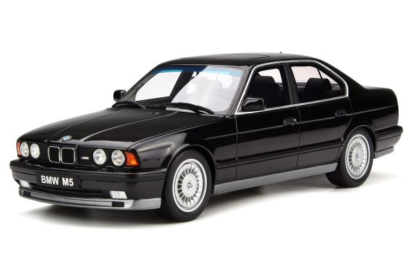 OttO mobile 1/18scale BMW M5 (E34) Phase I Black  [No.OTM690]