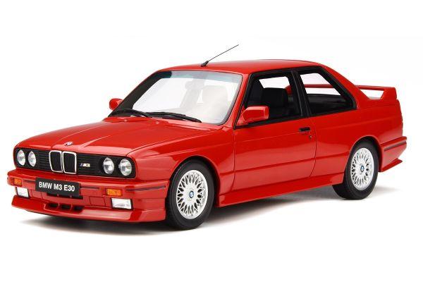 OttO mobile 1/18scale BMW M3 (E30) Red   [No.OTM695]