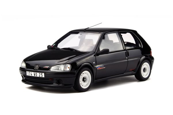 OttO mobile 1/18scale Peugeot 106 Rally Phase II Black [No.OTM706]