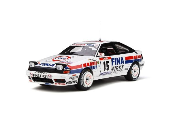 OttO mobile 1/18scale Toyota Celica GT-Four  (ST165) Tour de Corse 1991 (White / Blue / Red)  [No.OTM727]