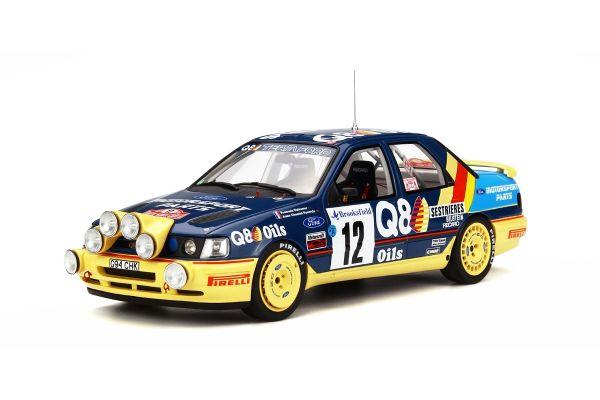 OttO mobile 1/18scale Ford Sierra 4x4 Monte Carlo #12 F.Delecour Blue/Yellow [No.OTM732]