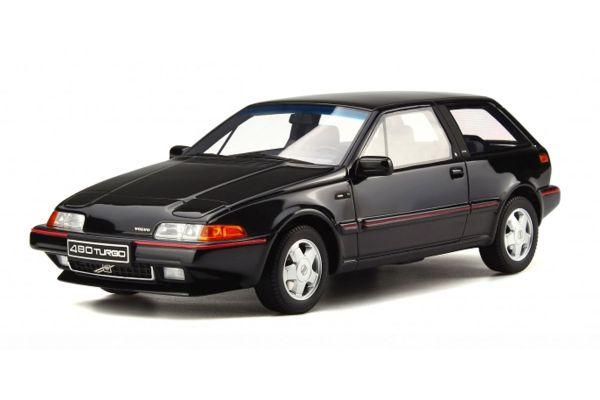 OttO mobile 1/18scale Volvo 480 Turbo Black [No.OTM740]