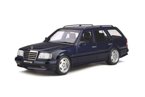OttO mobile 1/18scale Mercedes Benz S124 AMG E36 Phase3 (Dark Blue)  [No.OTM753]
