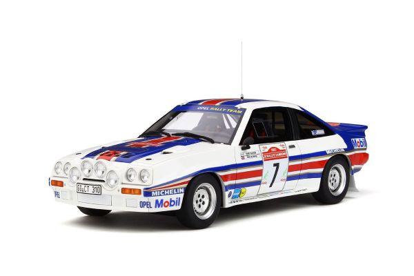 OttO mobile 1/18scale Opel Manta 400R Gr.B Rally San Remo #7 (White / Red / Blue)  [No.OTM761]