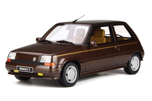 OttO mobile 1/18scale Renault Super 5 (Thunk) Baccarat (Brown)  [No.OTM764]
