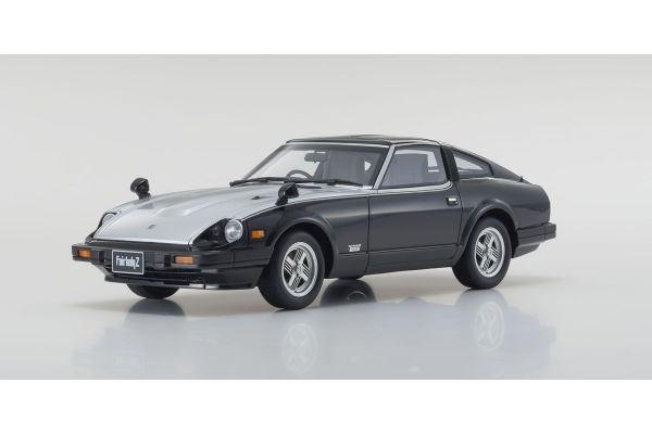 OttO mobile 1/18scale Nissan Fairlady Z-T Turbo 1983 (Black / Silver) OttO Mobile Kyosho Exclusive  [No.OTM769]