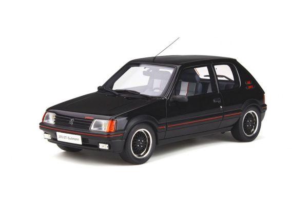 OttO mobile 1/18scale Peugeot 205 GTI Gutmann (Black)  [No.OTM796]