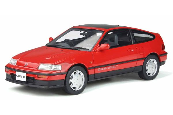 OttO mobile 1/18scale Honda CR-X Mk.II (Red) World Limited 1,500  [No.OTM855]