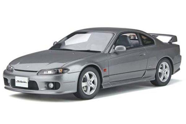 OttO mobile 1/18scale Nissan Silvia Spec-R (S15)  Dark silver [No.OTM273]