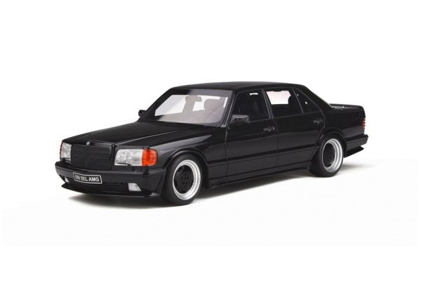 OttO mobile 1/18scale Mercedes Benz 560 6.0 SEL AMG (W126) (Black)  [No.OTM297]