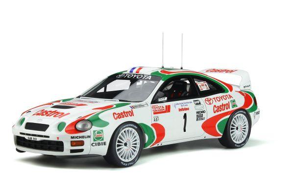 OttO mobile 1/18scale Toyota Celica GT Four ST205 # 1 Tour de Corse 1995 (Castrol) World limited 3,000  [No.OTM302]