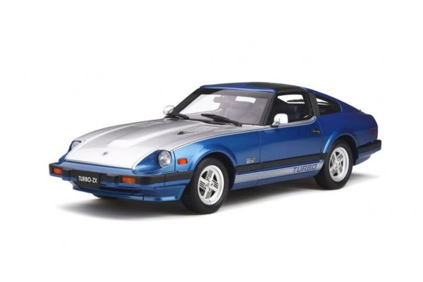 OttO mobile 1/18scale Datsun 280 ZX Turbo (Blue / Silver)  [No.OTM316]