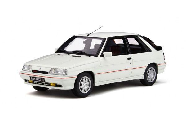 OttO mobile 1/18scale Renault 11 Turbo Phase2 (White)  [No.OTM319]