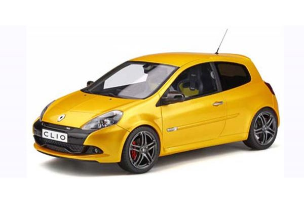 OttO mobile 1/18scale Renault Clio 3 RS Phase 2 Sports Cup (Yellow) World Limited 2,000  [No.OTM350]